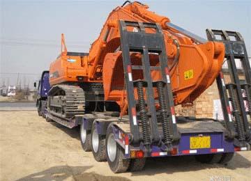 挖机物流运输